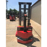 2003 RAYMOND DSX30 3000 LB ELECTRIC FORKLIFT WALKIE STACKER CUSHION 86/128 2 STAGE MAST STOCK # 4802-008003-ARB - united-lift-equipment