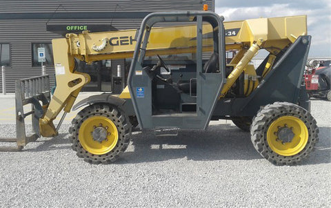 2014 GEHL RS6-34 6000 LB DIESEL TELESCOPIC FORKLIFT TELEHANDLER PNEUMATIC 4WD 1920 HOURS STOCK # BF9413779-CEIL - United Lift Equipment LLC