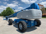 2006 GENIE S125 TELESCOPIC BOOM LIFT AERIAL LIFT 125' REACH DIESEL 4WD 4060 HOURS STOCK # BF924429-RIL