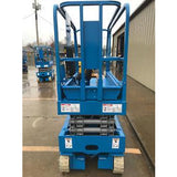 2001 GENIE GS1930 SCISSOR LIFT 19' REACH ELECTRIC 2791 HOURS STOCK # 5838-495185-ARB