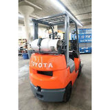 2004 TOYOTA 7FGCU20 4000 LB LP GAS FORKLIFT CUSHION 57/79 2 STAGE MAST SIDE SHIFTER STOCK # BF65225-DPA - united-lift-equipment