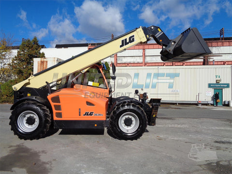 2016 JLG 3614RS 8000 LB DIESEL TELESCOPIC FORKLIFT TELEHANDLER PNEUMATIC 4WD ENCLOSED CAB 3516 HOURS STOCK # BF9075649-ESPA