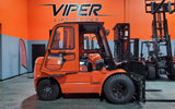 "2021 VIPER FD50 11000 LB DIESEL FORKLIFT DUAL PNEUMATIC 91/189"" 3 STAGE MAST SIDE SHIFTER ENCLOSED CAB STOCK # BF9473239-ILIL - United Lift Used & New Forklift Telehandler Scissor Lift Boomlift"