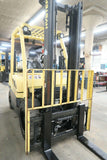 "2008 HYSTER H60FT 6000 LB LP GAS FORKLIFT PNUEMATIC 96/142"" 2 STAGE MAST SIDE SHIFTER 6337 HOURS STOCK # BF87043-DPA"