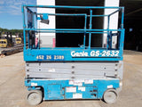 2013 GENIE GS2632 SCISSOR LIFT 26' REACH ELECTRIC SMOOTH CUSHION TIRES MULTIPLE UNITS AVAILABLE STOCK # BF924371-RIL