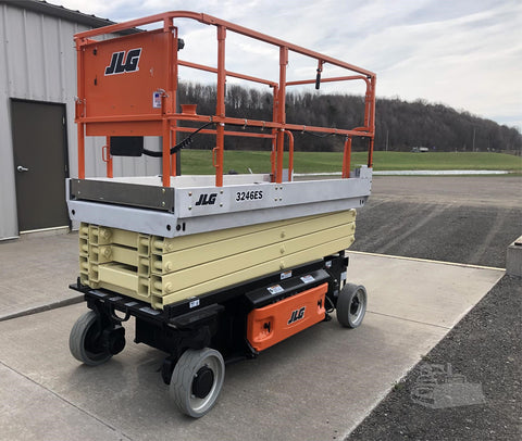 2021 JLG 3246ES (2010 JLG Factory Reconditioned frame) SCISSOR LIFT 32' REACH ELECTRIC SMOOTH CUSHION TIRES (2010 JLG FACTORY RECONDITIONED) STOCK # BF9171549-ISNY - United Lift Equipment LLC
