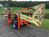 2018 JLG T350 TOWABLE BOOM LIFT AERIAL LIFT 35' REACH ELECTRIC OUTRIGGERS BRAND NEW STOCK # BF9259549-ISNY