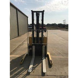 1999 YALE MSW030 3000 LB ELECTRIC FORKLIFT WALKIE STACKER CUSHION 83/126 2 STAGE MAST STOCK # 3782-937317-ARB - united-lift-equipment