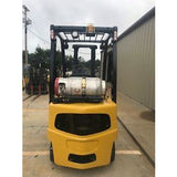 2006 YALE GLP040 4000 LB LP GAS FORKLIFT PNEUMATIC 84/130 2 STAGE MAST 7474 HOURS STOCK # 9137-02416D-ARB - United Lift Used & New Forklift Telehandler Scissor Lift Boomlift