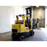 2015 HYSTER S120FT 12000 LB LP GAS FORKLIFT CUSHION 127/270 3 STAGE MAST STOCK # 19861-NCB