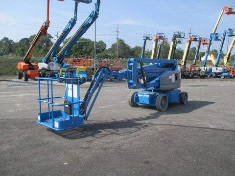 2018 GENIE Z40/23NRJ ARTICULATING BOOM LIFT AERIAL LIFT WITH JIB ARM 40' REACH ELECTRIC STOCK # BF9598739-CCOH - United Lift Used & New Forklift Telehandler Scissor Lift Boomlift