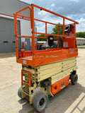 2015 JLG 2632ES SCISSOR LIFT 500 LB 26' REACH ELECTRIC WITH DECK EXTENSION 155 HOURS STOCK # BF9252679-RIL - United Lift Used & New Forklift Telehandler Scissor Lift Boomlift