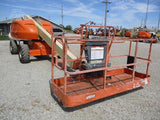 2008 JLG 400S TELESCOPIC BOOM LIFT AERIAL LIFT 40' REACH DIESEL 4WD 3410 HOURS STOCK # BF9241119-CEIL - United Lift Used & New Forklift Telehandler Scissor Lift Boomlift