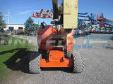 2012 JLG 450AJ ARTICULATING BOOM LIFT AERIAL LIFT WITH JIB ARM 45' REACH DIESEL 4WD 2298 HOURS STOCK # BF9359059-HLNY - United Lift Used & New Forklift Telehandler Scissor Lift Boomlift
