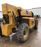 2014 CAT TL1055 10000 LB DIESEL TELESCOPIC FORKLIFT TELEHANDLER PNEUMATIC 4WD 3475 HOURS STOCK # BF9742399-NLEQ