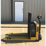 2013 YALE MPW050 5000 LB ELECTRIC WALKIE PALLET JACK CUSHION 927 HOURS STOCK # 3059-04630K-ARB