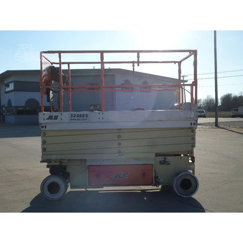 2010 JLG 3246ES SCISSOR LIFT 32' REACH ELECTRIC SMOOTH CUSHION TIRES 162 HOURS STOCK # BF964119-FILB