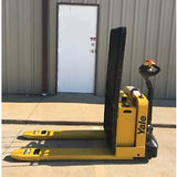 2014 YALE MPW050 5000 LB ELECTRIC WALKIE PALLET JACK CUSHION 1708 HOURS STOCK # 3102-05778L-ARB