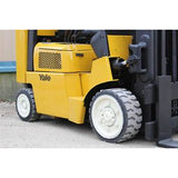 "2006 YALE GLC080 8000 LB LP GAS FORKLIFT CUSHION 200"" 3 STAGE MAST STOCK # BF406894-RIL2 - united-lift-equipment"