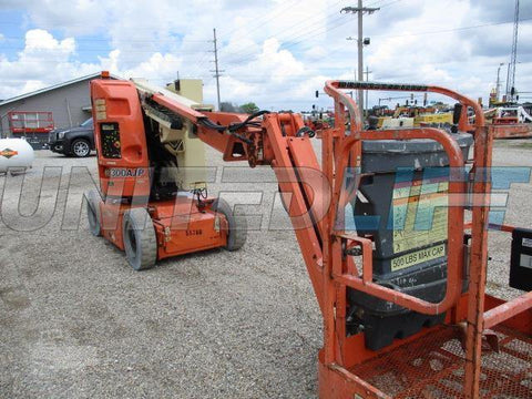 2007 JLG E300AJP ARTICULATING BOOM LIFT AERIAL LIFT 30' REACH ELECTRIC 807 HOURS STOCK # BF9135149-CEIL
