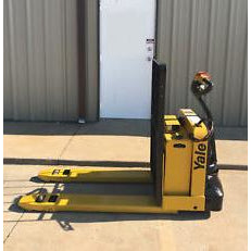 2008 YALE MPW050 5000 LB ELECTRIC WALKIE PALLET JACK CUSHION 1790 HOURS STOCK # 2889-02838F-ARB