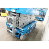 2008 GENIE GS3246 SCISSOR LIFT 32' REACH ELECTRIC SMOOTH CUSHION TIRES 400 HOURS STOCK # BF48799-DPA