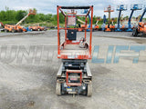 2013 SKYJACK SJ3219 SCISSOR LIFT 19' REACH ELECTRIC SMOOTH CUSHION TIRES 153 HOURS STOCK # BF989079-BATNY - United Lift Used & New Forklift Telehandler Scissor Lift Boomlift