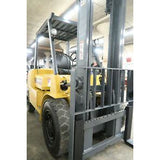2004 CATERPILLAR GP40K 8000 LB GASOLINE FORKLIFT PNEUMATIC 104/159 2 STAGE MAST SIDE SHIFTER 4927 HOURS STOCK # BF874248-DPA - united-lift-equipment
