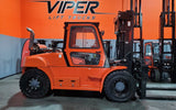 "2020 VIPER FD100 22000 LB DIESEL FORKLIFT DUAL PNEUMATIC 119/189"" 3 STAGE MAST SIDE SHIFTING FORK POSITIONER ENCLOSED CAB STOCK # BF91133279-ILIL - United Lift Used & New Forklift Telehandler Scissor Lift Boomlift"
