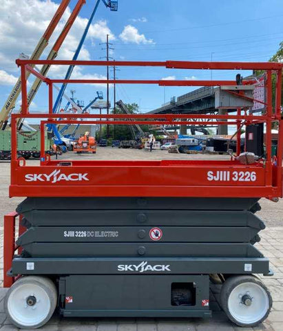 2013 SKYJACK SJIII3226 SCISSOR LIFT 26' REACH ELECTRIC CUSHION TIRES 206 HOURS STOCK # BF961599-NLEQ - United Lift Used & New Forklift Telehandler Scissor Lift Boomlift