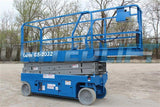 2008 GENIE GS2032 SCISSOR LIFT 20' REACH ELECTRIC SMOOTH CUSHION TIRES 298 HOURS STOCK # BF9GEN20899-RIL2