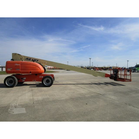 2007 JLG 800S TELESCOPIC BOOM LIFT AERIAL LIFT 80' REACH DIESEL 4WD 1948 HOURS STOCK # BF9712799-FILB