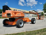 2007 JLG 1350SJP TELESCOPIC STRAIGHT BOOM LIFT AERIAL LIFT WITH JIB 135' REACH DIESEL 4WD 3619 HOURS STOCK # BF9311689-RIL