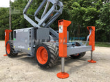 2012 SKYJACK SJ6826RT SCISSOR LIFT 26' REACH DIESEL PNEUMATIC TIRES OUTRIGGERS 1914 HOURS STOCK # BF9323759-RIL2