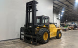 "2009 MASTERCRAFT C-20-974-4WD 20000 LB CAPACITY DIESEL ROUGH TERRAIN 4WD FORKLIFT 147/192"" 2 STAGE MAST ENCLOSED CAB SIDE SHIFTER STOCK # BF9499539-ILIL - United Lift Used & New Forklift Telehandler Scissor Lift Boomlift"
