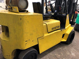 1997 HYSTER S120XLS 12000 LB LP GAS FORKLIFT CUSHION 83/160 3 STAGE MAST 13145 HOURS STOCK # BF9091699-BEMIN