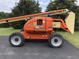2014 JLG 600A ARTICULATING BOOM LIFT AERIAL LIFT 60' REACH DIESEL 4WD 592 HOURS STOCK # BF9451399-ISNY - United Lift Used & New Forklift Telehandler Scissor Lift Boomlift
