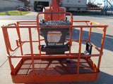 2008 JLG 600A ARTICULATING BOOM LIFT AERIAL LIFT 60' REACH DUAL FUEL 4WD 2318 HOURS STOCK # BF96001A-RIL