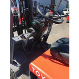 "1993 TOYOTA 30-5FBC18 3500 LB 36V ELECTRIC FORKLIFT CUSHION 85/130"" 2 STAGE MAST 11066 HOURS STOCK # BF154112-FTWIB - united-lift-equipment"