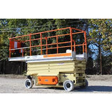 2011 JLG 3246ES SCISSOR LIFT 32' REACH ELECTRIC SMOOTH CUSHION TIRES STOCK # BF405517-RIL2