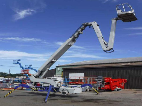 2010 REACHMASTER FALCON FS95 CRAWLER BOOM LIFT 95' REACH ELECTRIC ENGINE HYDRAULIC OUTRIGGERS 1050 HOURS STOCK # BF9691319-NLEQ - United Lift Used & New Forklift Telehandler Scissor Lift Boomlift