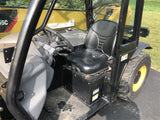 2016 CATERPILLAR TH255C 5500 LB DIESEL TELESCOPIC FORKLIFT TELEHANDLER PNEUMATIC 4WD AUXILIARY HYDRAULICS 946 HOURS STOCK # BF9443419-ISNY