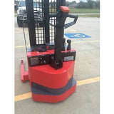 2010 RAYMOND RSS40 4000 LB ELECTRIC FORKLIFT WALKIE STACKER CUSHION SIDE SHIFTER STOCK # 6757-003980-ARB