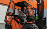 "2021 VIPER RTD25 5000 LB DIESEL FORKLIFT PNEUMATIC 90/189"" 3 STAGE MAST SIDE SHIFTER ENCLOSED HEATED CAB STOCK # BF9393929-ILIL"