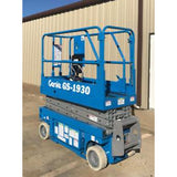 2001 GENIE GS1930 SCISSOR LIFT 19' REACH ELECTRIC 2140 HOURS STOCK # 5922-593890-ARB - united-lift-equipment
