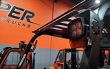 "2021 VIPER FD70 15500 LB DIESEL FORKLIFT DUAL PNEUMATIC 108/189"" 3 STAGE MAST SIDE SHIFTING FORK POSITIONER STOCK # BF9583559-ILIL - United Lift Used & New Forklift Telehandler Scissor Lift Boomlift"