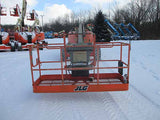 2011 JLG 600AJ ARTICULATING BOOM LIFT AERIAL LIFT WITH JIB ARM 60' REACH DIESEL 4WD 3400 HOURS STOCK # BF9323119-HLNY - United Lift Used & New Forklift Telehandler Scissor Lift Boomlift
