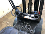"2014 TOYOTA 8FGU32 6500 LB LP GAS FORKLIFT PNEUMATIC 83/131"" 2 STAGE MAST SIDE SHIFTING FORK POSITIONER 8288 HOURS STOCK # BF9073209-BEMIN"