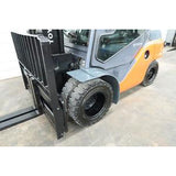 2014 TOYOTA 8FD35U 8000 LB DIESEL FORKLIFT PNEUMATIC 87/187 3 STAGE MAST 1806 HOURS STOCK # BF14098-DPA
