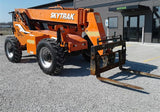 2015 SKYTRAK 6042 6000 LB DIESEL TELESCOPIC FORKLIFT TELEHANDLER PNEUMATIC 4WD ENCLOSED CAB 3780 HOURS STOCK # BF9450039-CEIL - United Lift Equipment LLC